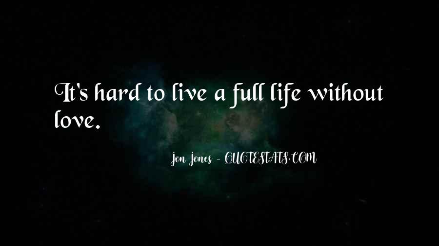 Quotes About Jon Jones #491161