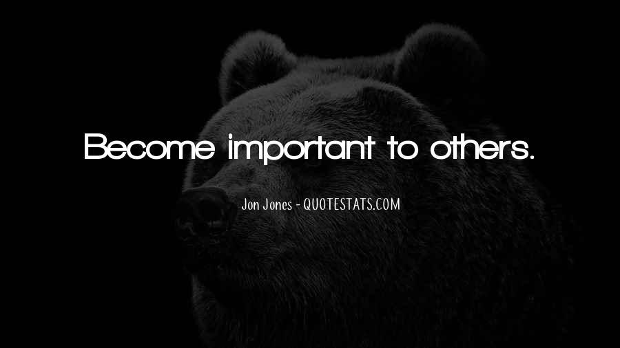 Quotes About Jon Jones #861343