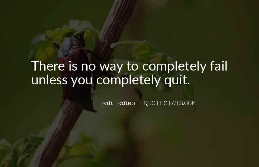 Quotes About Jon Jones #961987