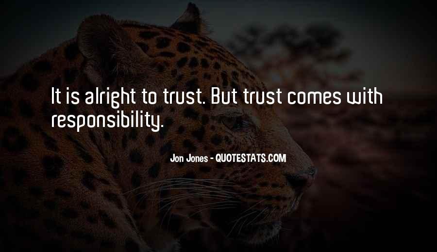 Quotes About Jon Jones #970395