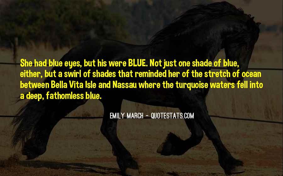 Turquoise Ocean Quotes #681514