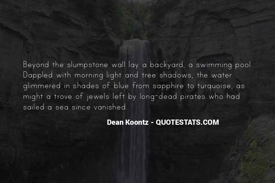 Turquoise Water Quotes #1624558