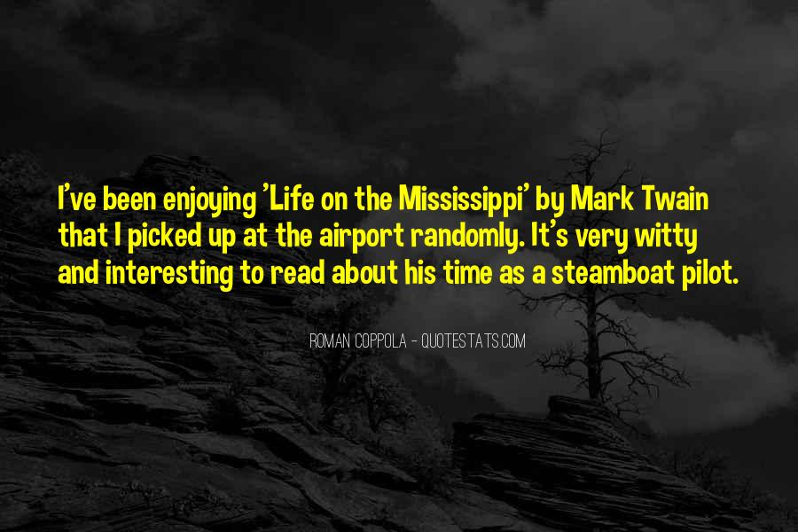 Twain Mississippi Quotes