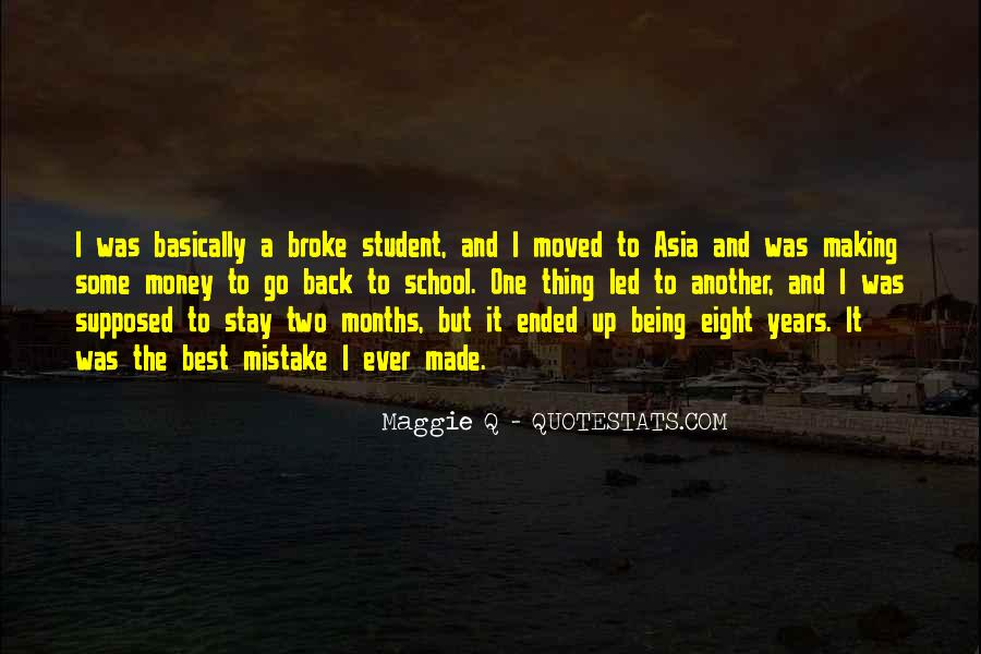 Quotes About Being Broke #1372281