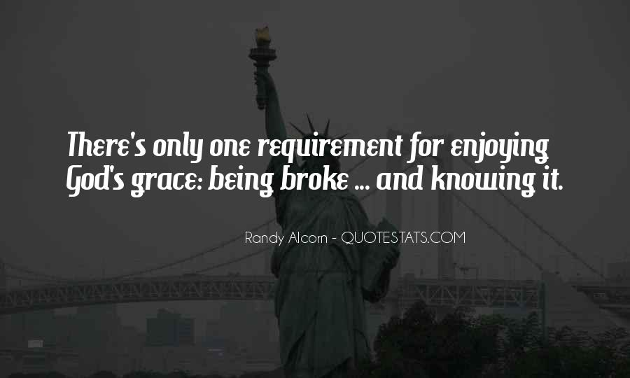 Quotes About Being Broke #1390876
