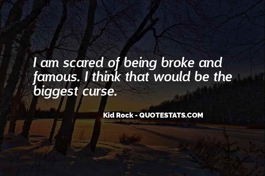 Quotes About Being Broke #70266