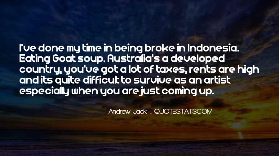 Quotes About Being Broke #777648
