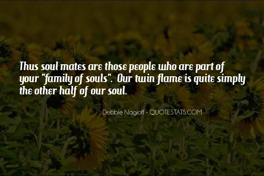 Twin Soul Mates Quotes #1099739