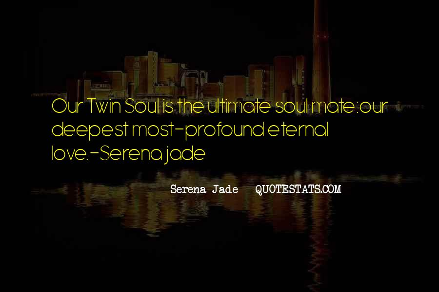 Twin Soul Mates Quotes #921496