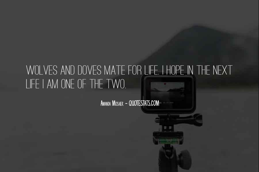 Two Doves Quotes #213084