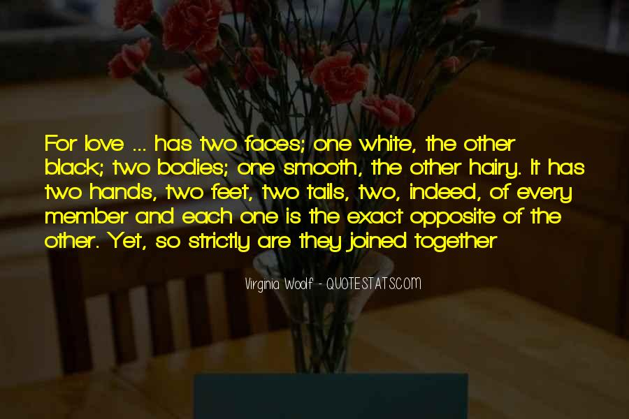 Two Faces Of Love Quotes #96602