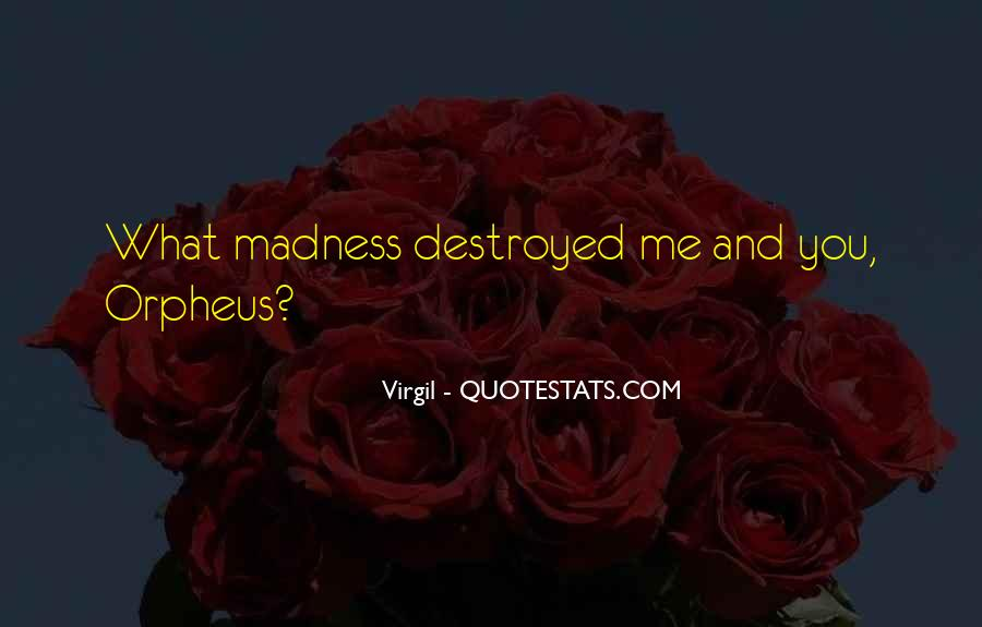 Quotes About Orpheus #117950