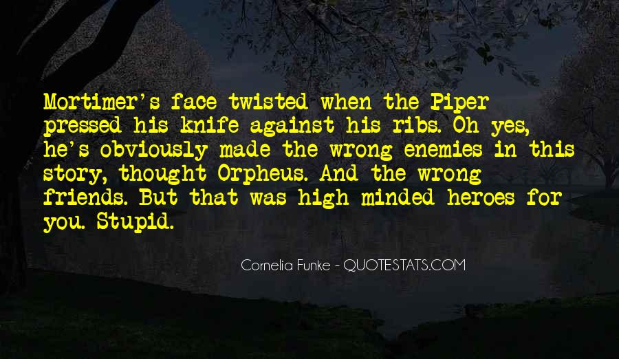 Quotes About Orpheus #1476144