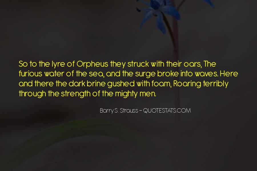 Quotes About Orpheus #1507998