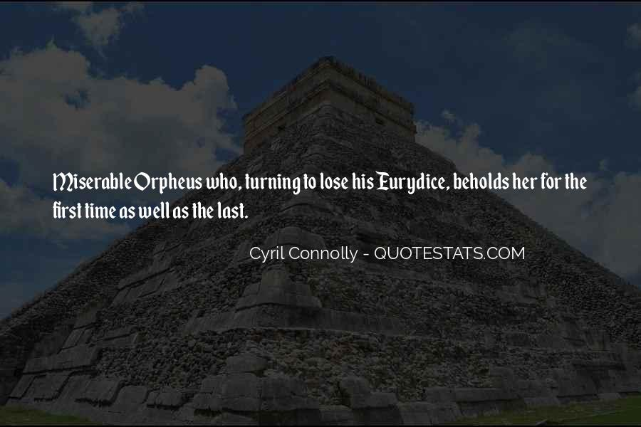 Quotes About Orpheus #1716799
