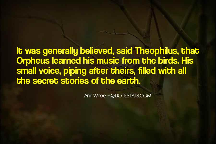 Quotes About Orpheus #246730