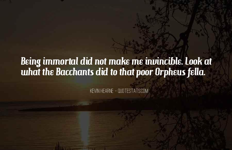 Quotes About Orpheus #537925