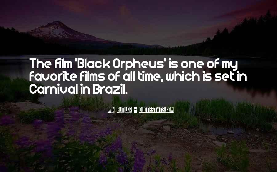 Quotes About Orpheus #593343