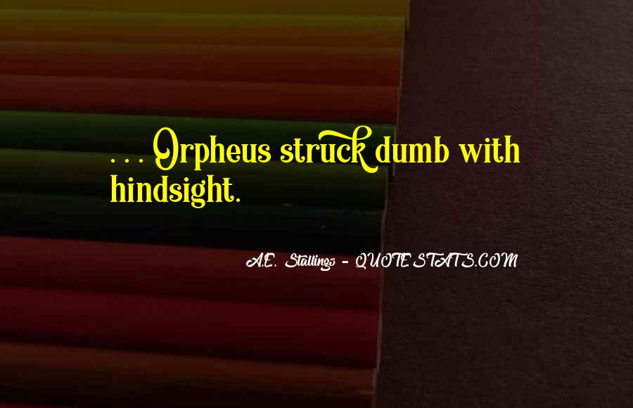 Quotes About Orpheus #629020