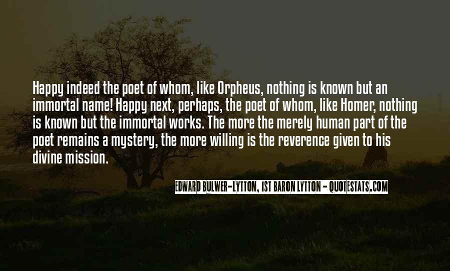 Quotes About Orpheus #803317