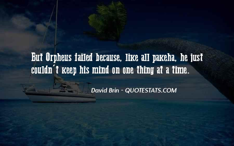 Quotes About Orpheus #889765