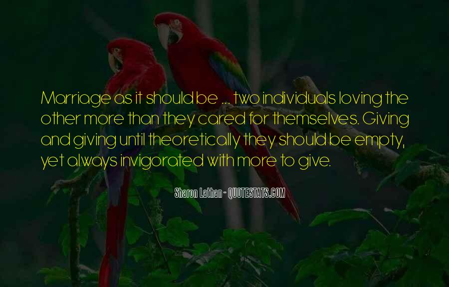 Two Individuals Quotes #603448