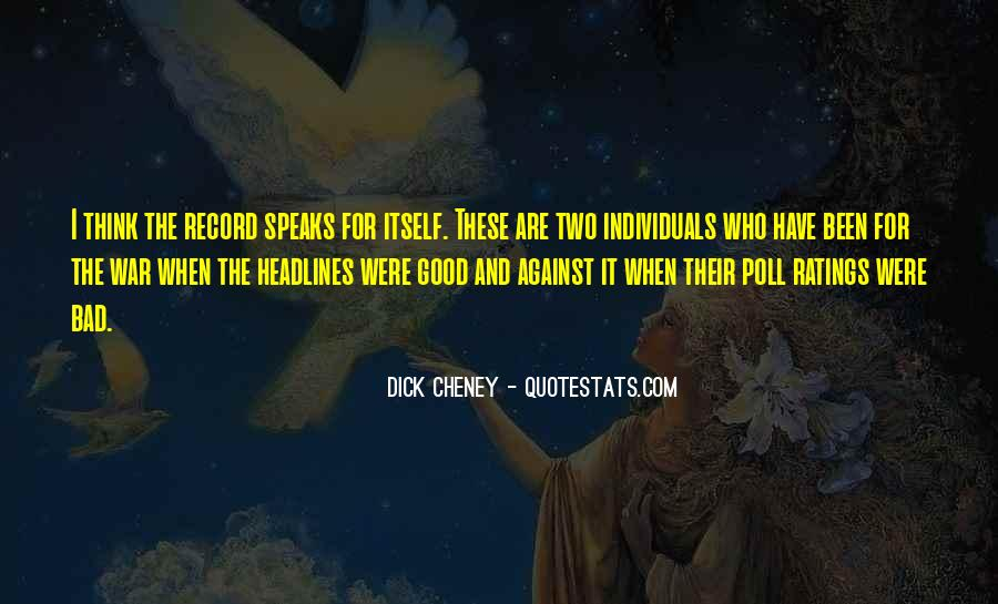 Two Individuals Quotes #782100