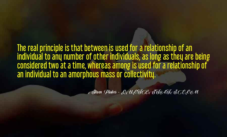 Two Individuals Quotes #899692