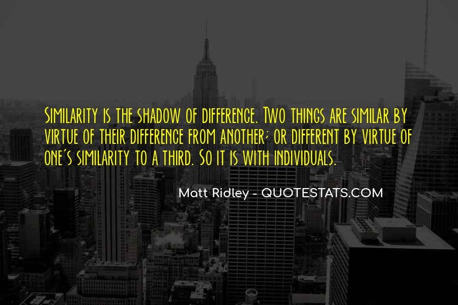 Two Individuals Quotes #975160