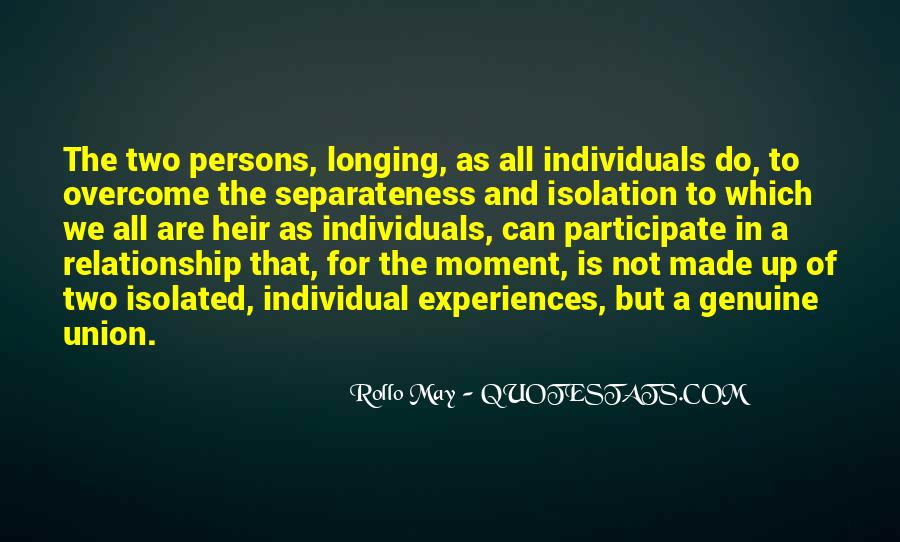 Two Individuals Quotes #975420