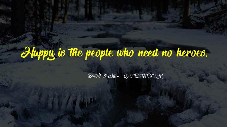 Quotes About Bertolt Brecht #117876