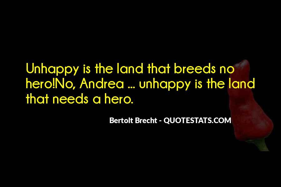 Quotes About Bertolt Brecht #120274