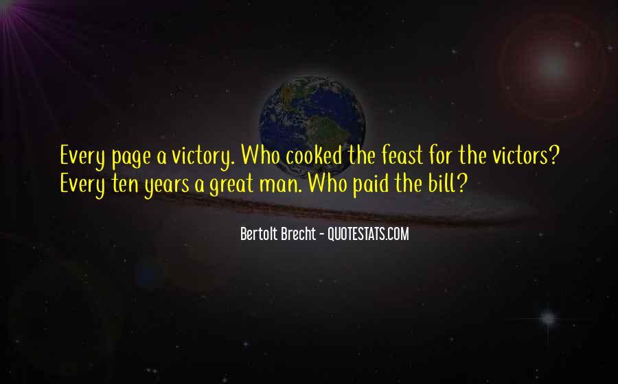Quotes About Bertolt Brecht #134296