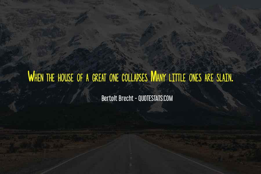 Quotes About Bertolt Brecht #162318