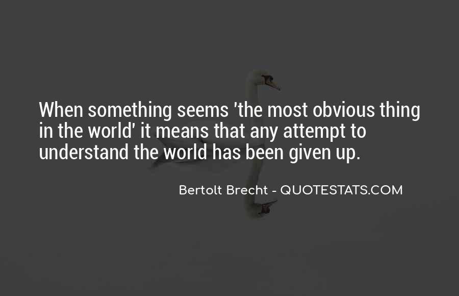 Quotes About Bertolt Brecht #178645