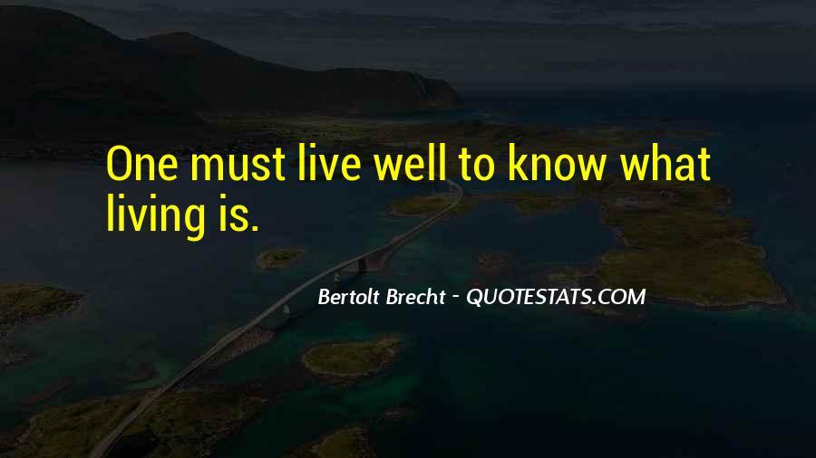 Quotes About Bertolt Brecht #197120