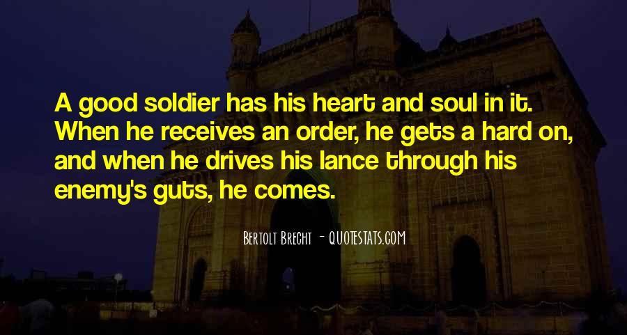 Quotes About Bertolt Brecht #235622