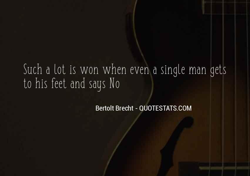 Quotes About Bertolt Brecht #289159