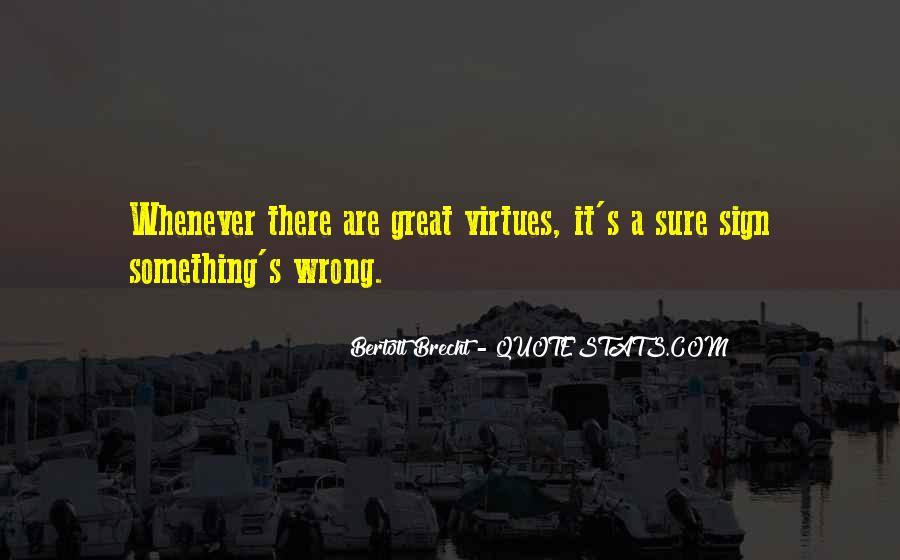 Quotes About Bertolt Brecht #312248
