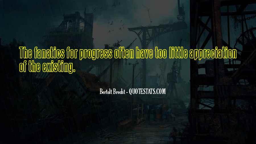 Quotes About Bertolt Brecht #327280