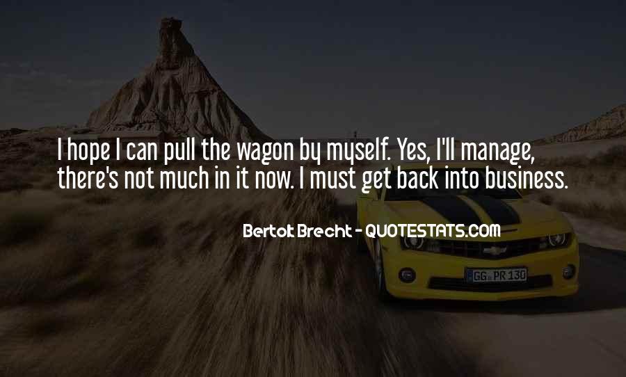 Quotes About Bertolt Brecht #330529