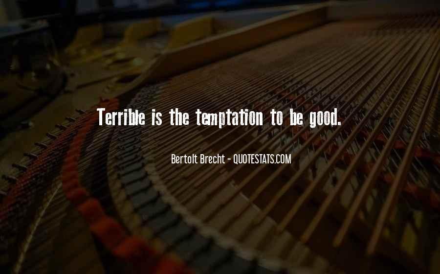 Quotes About Bertolt Brecht #372585