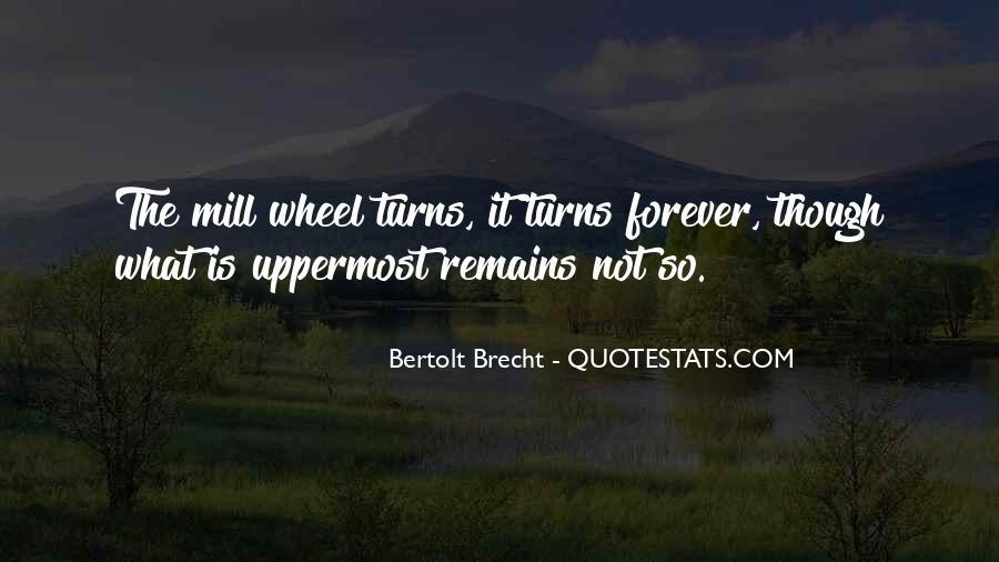 Quotes About Bertolt Brecht #382253