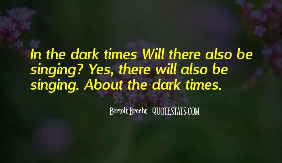 Quotes About Bertolt Brecht #407840