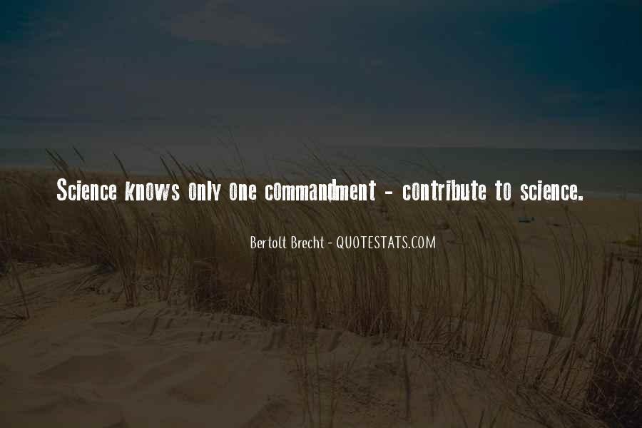 Quotes About Bertolt Brecht #447535