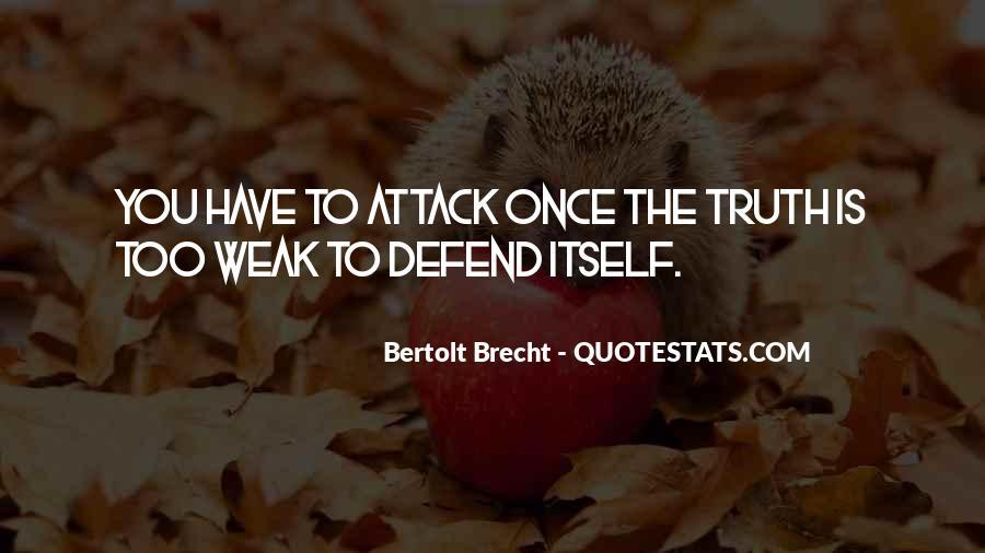 Quotes About Bertolt Brecht #453221