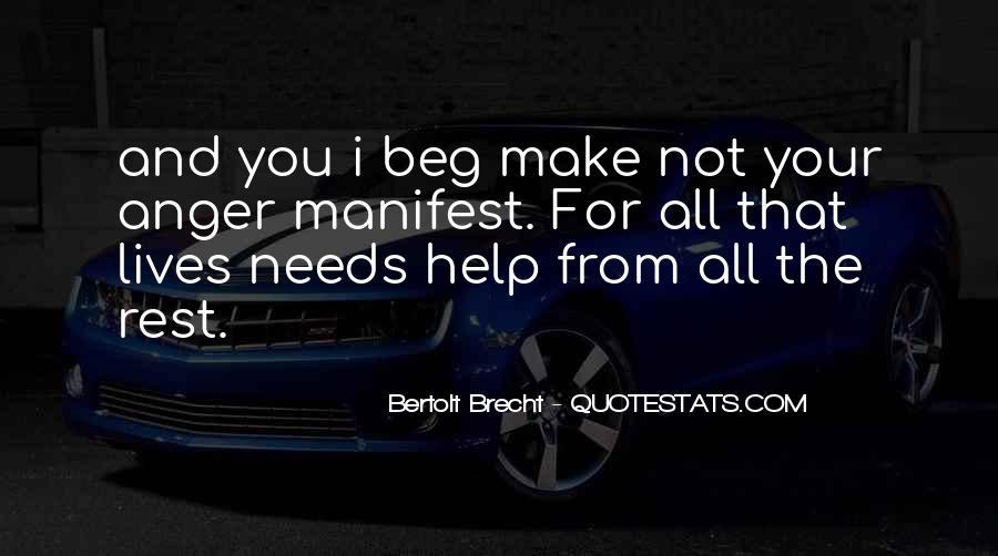 Quotes About Bertolt Brecht #485369