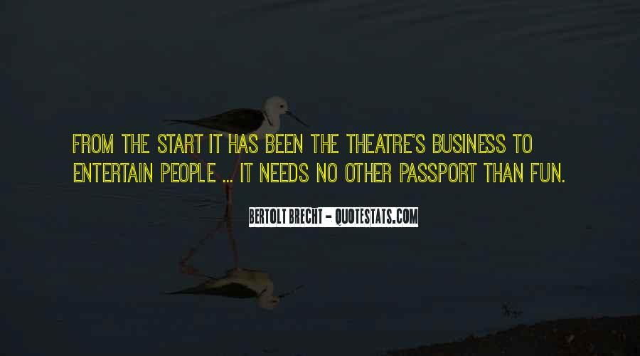 Quotes About Bertolt Brecht #512804