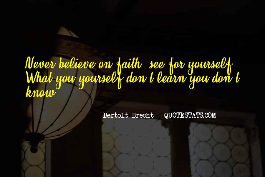 Quotes About Bertolt Brecht #58944