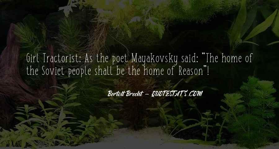 Quotes About Bertolt Brecht #598023